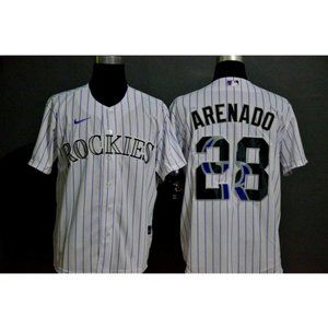 Colorado Rockies Nolan Arenado White Jersey